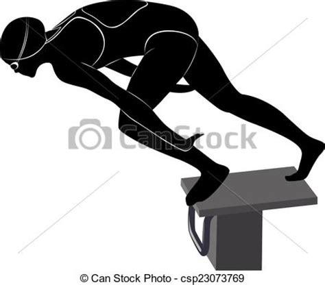 clipart vettoriali clipart vettoriali di nuotatori atleticsp23073769 cerca