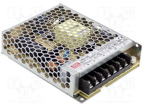 Lrs 100 24 Power Supply Meanwell Adapter Driver e44 alimentation 224 d 233 coupage 100w 24vcc 4 5a chassis ferme 129x97x 30mm 224 29 00