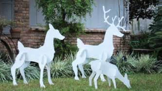 wooden reindeer yard decorations 8 the minimalist nyc