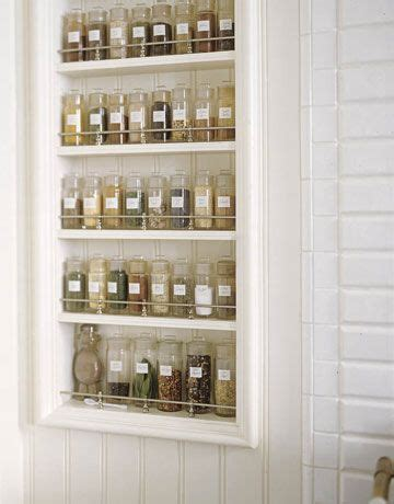 Spice Rack For Penzeys Jars by In Wall Spice Rack Home Space