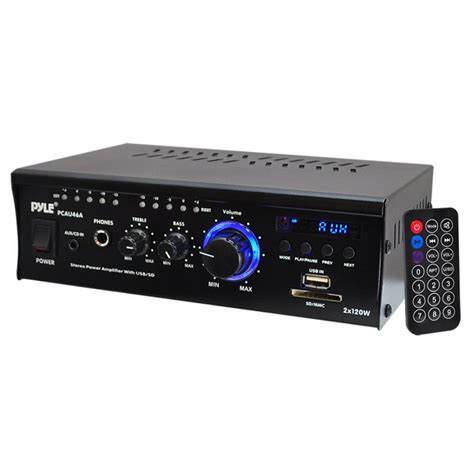 pyle pcau46a pyle mini 2 ch w usb at onlinecarstereo