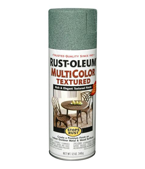 buy rust oleum stops rust multicolor textured spray paint color sea green at low price