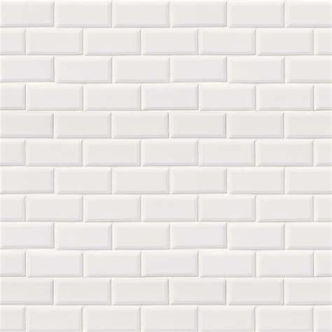 white subway tile subway tile domino white glossy beveled 2x4 in decorations 3 tubmanugrr