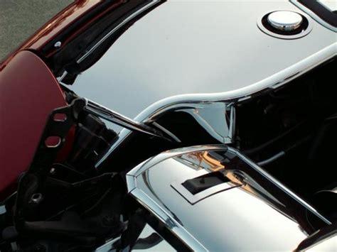 corvette fender cover corvette inner fender covers deluxe polished with cap