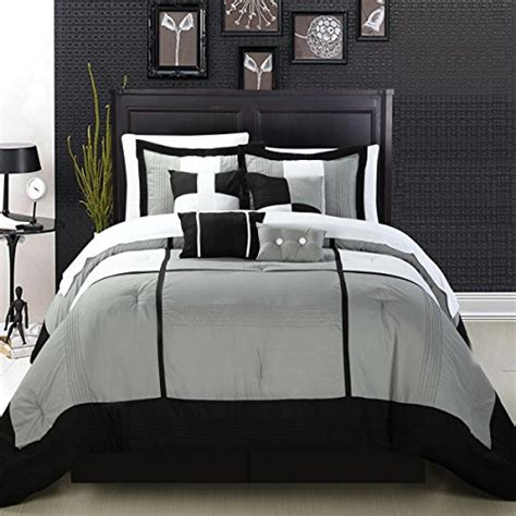 Black White And Grey Bedding by An Exercise In Versatility Modern Black White And Grey