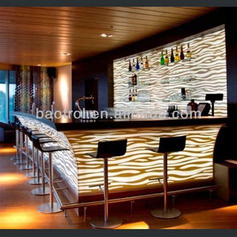 lada di wood discoteca nightclub counter illuminated led bar counter led bar