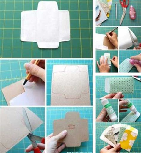 Recycling Paper Crafts - 11 handmade gift boxes simple recycled crafts