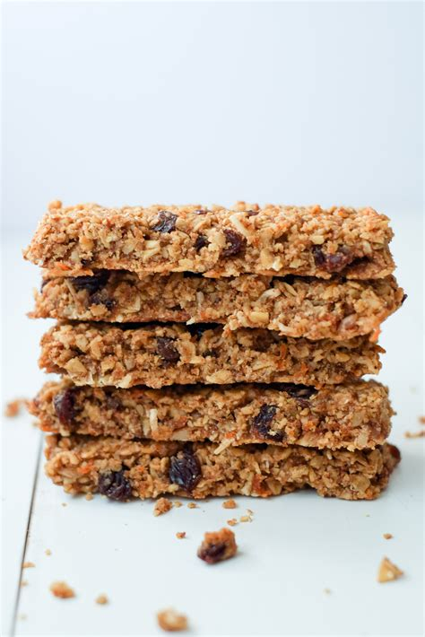 top 10 healthiest granola bars healthy carrot cake granola bars super healthy kids