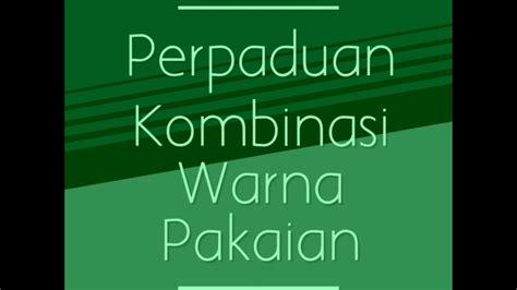 kombinasi warna hijau desainrumahidcom