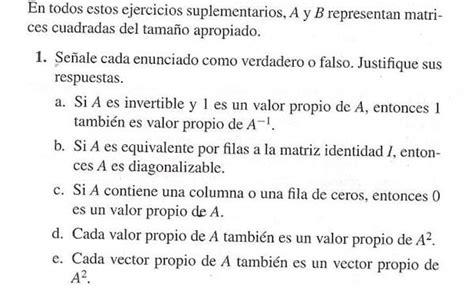 preguntas de matematicas para una entrevista de trabajo preguntas de falso y verdadero sobre diagonalizaci 243 n