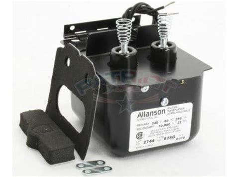 wiring a webster ignition transformer allanson ignition