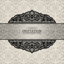 abstract background with exclusive antique luxury