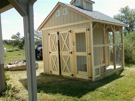 Large Chicken Shed by Basics 6 X 6 7 4 Wall 3 Windows 32 Door Treated Floor 8 X