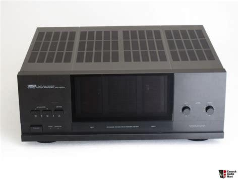 Audio Power Lifier Yamaha Dts yamaha mx 600u stereo power lifier photo 1064734 canuck audio mart
