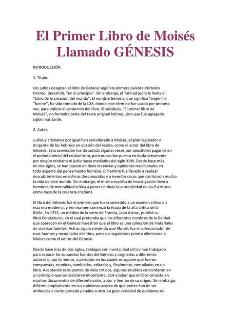 origen del libro de genesis 1 genesis by wendy flores issuu