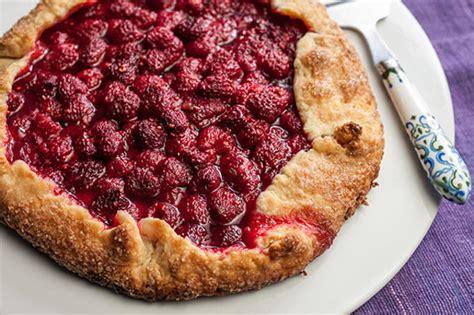 easy raspberry tart recipe chowhound