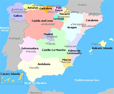 Search Spain Map Of Spain