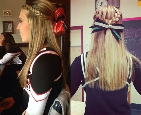 school cheer hairstyles absolutely cheer hairstyles any will