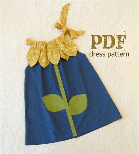 c tutorial pdf by balaguruswamy sunny flower pillowcase dress girl sewing pattern pdf