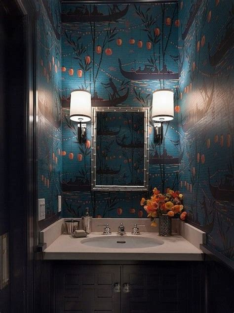 Teal Wallpaper Interior Design by 29 Interior Designs With Chinoiserie Theme Messagenote