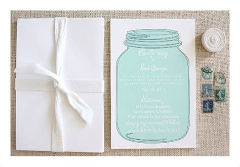 mason jar templates for invitations mason jar wedding invitation templates free