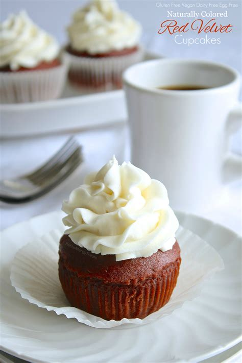 gluten free red velvet cupcakes vegan dairy free petite allergy treats