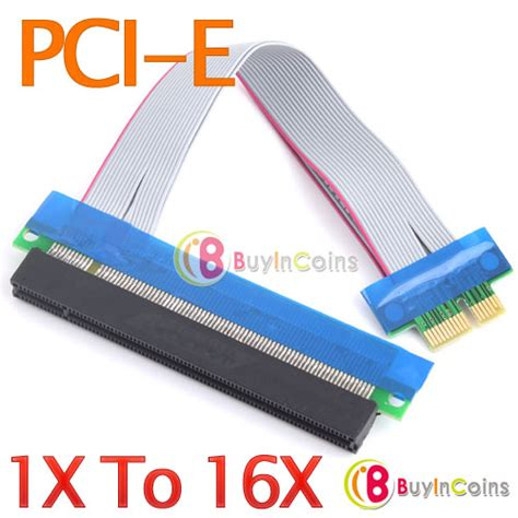 Pci Express Pcie 1x To 16x Extension Versi 006 1 pcie 1x gt 16x extenders on a 16x slot