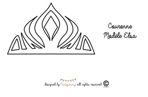 printable frozen crown template 10 best images of frozen crown template elsa s crown