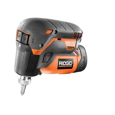ridgid 12 volt lithium ion 1 4 in cordless palm impact