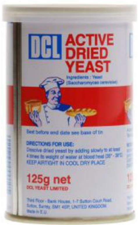 dried yeast active    dcl