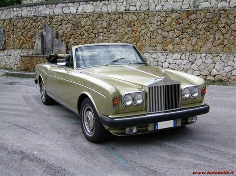rolls royce corniche cabrio vendo rolls royce corniche cabriolet 1978