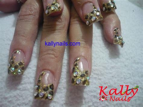 imagenes de uñas a acrilicas unas decoradas con cristales portal pic 11 pelautscom