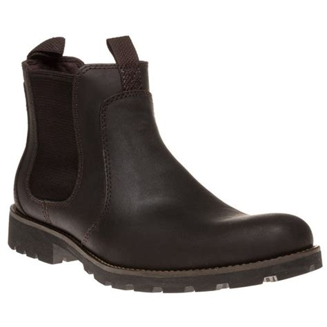 Kickers Scape Brown cheap mens brown rockport escape chelsea boots at