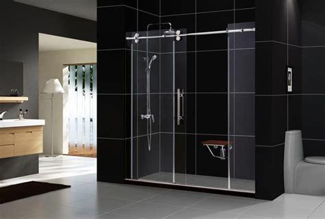 Contemporary Shower Doors Enigma Frameless Shower Door