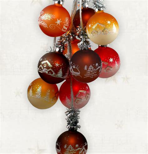 weihnachtsdekoration beleuchtet weihnachtsdekoration beleuchtet glaskugelschmuck