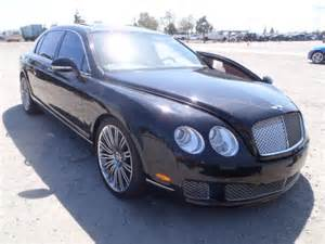 Salvage Bentley For Sale Salvage 2012 Bentley Continenta For Sale