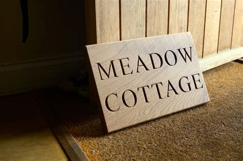 Handmade Sign - wooden house signs makemesomethingspecial co uk