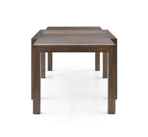 modrest galant modern grey oak extendable dining table