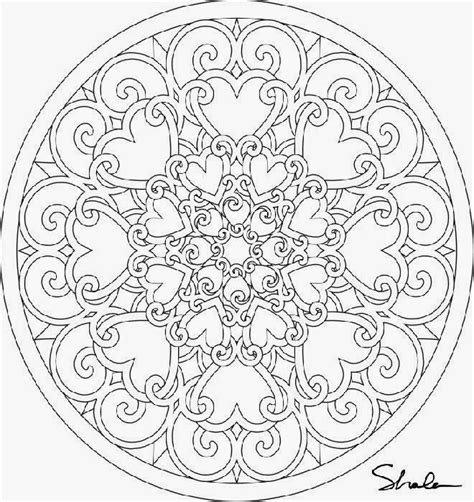 round mandala coloring pages circle mandala coloring pages colorings net