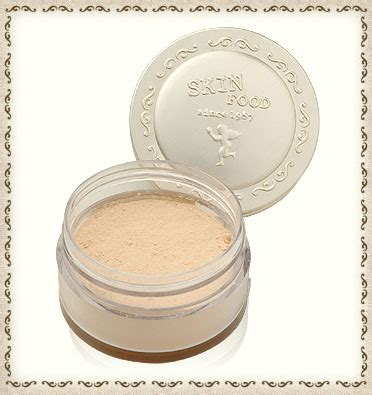 Bedak Skinfood skinfood buckwheat powder miss lie collection