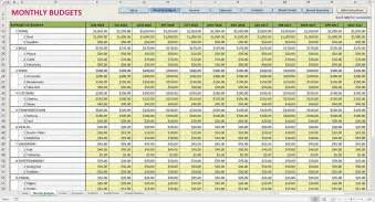 monthly income statement template excel monthly income statement excel template and sle