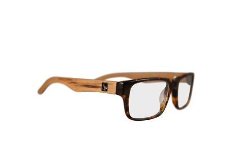 quot cascade quot wood eyeglasses in tortoise zebrawood