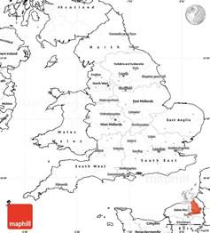 England Map Blank by Gallery For Gt Map Of England Blank