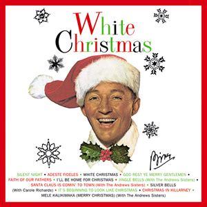 bing crosby hawaiian christmas mele kalikimaka by bing crosby songfacts