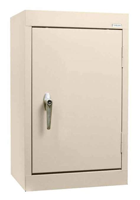 wall mount solid door storage cabinets  sandusky lee