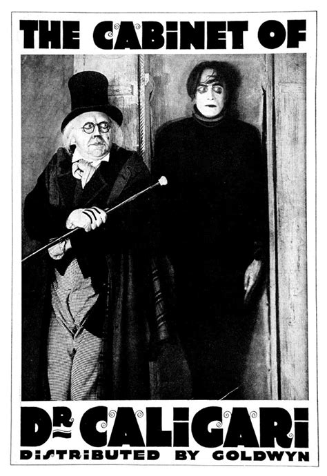 verdoux the cabinet of dr caligari 1920