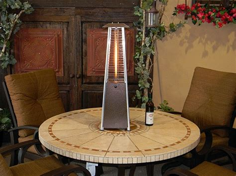 flame tornado l tornado flame table top heater in hammered bronze