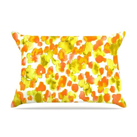 Bright Orange Pillow Cases by 1000 Ideas About Orange Pillow Cases On