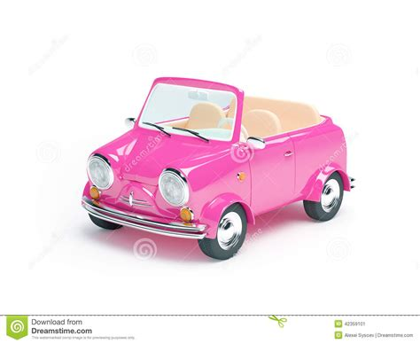 Rosa Auto Kaufen by Pink Small Car Stock Illustration Image 42359101