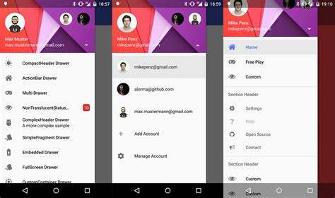 sliding tab layout android xamarin fragment navigation drawer codepath android cliffnotes